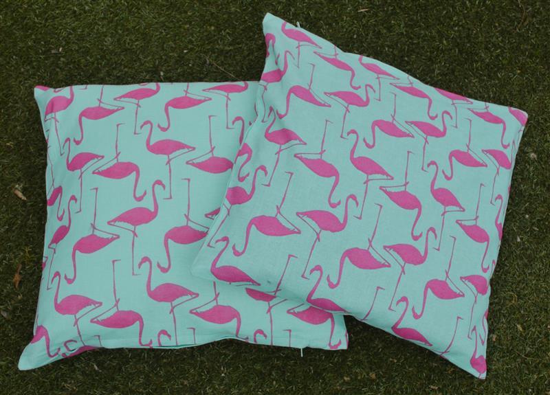 Flamingo kussens