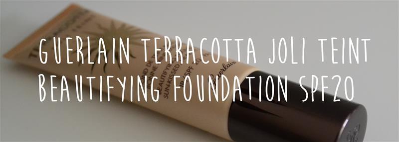 Guerlain Terracotta Joli Teint Beautifying Foundation SPF20