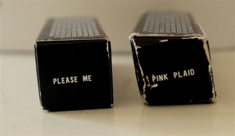 mac pink plaid vs please me - photo #25