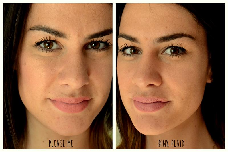 mac pink plaid vs please me - photo #8