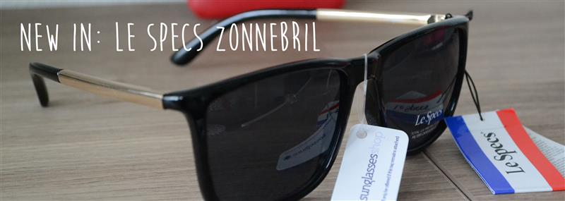 New in: Le Specs zonnebril