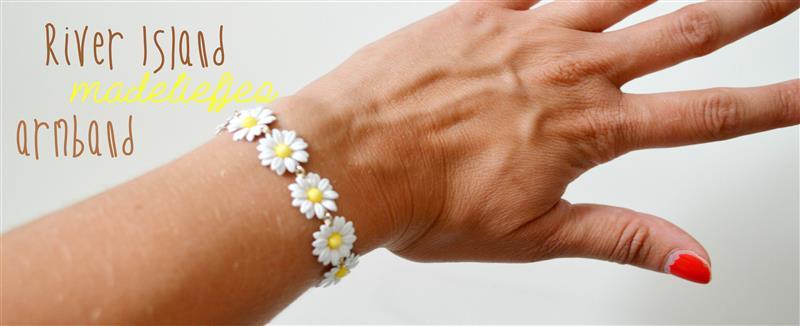 Madeliefjes armband van River Island
