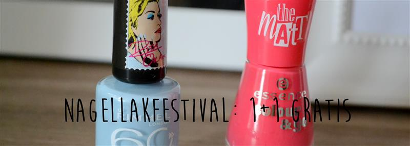 Nagellakfestival: 1+1 gratis