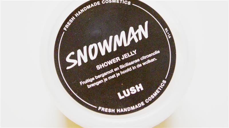 LUSH – Snowman shower jelly