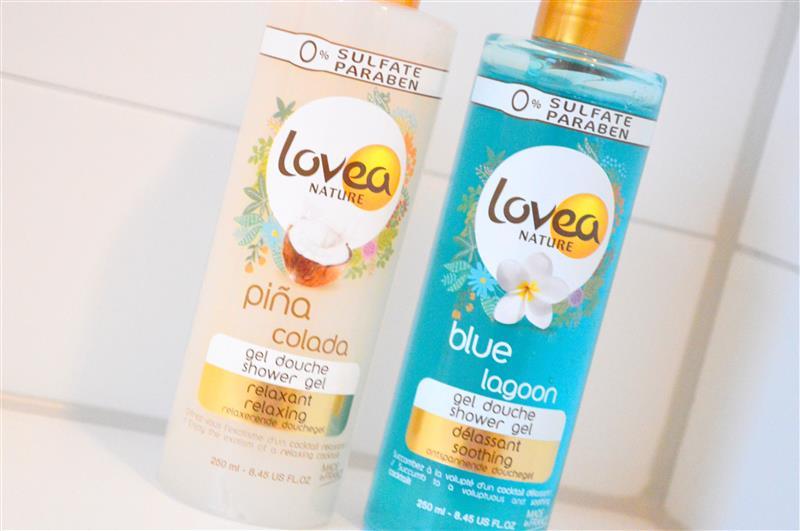 Lovea douchegel Piña Colada & Blue Lagoon