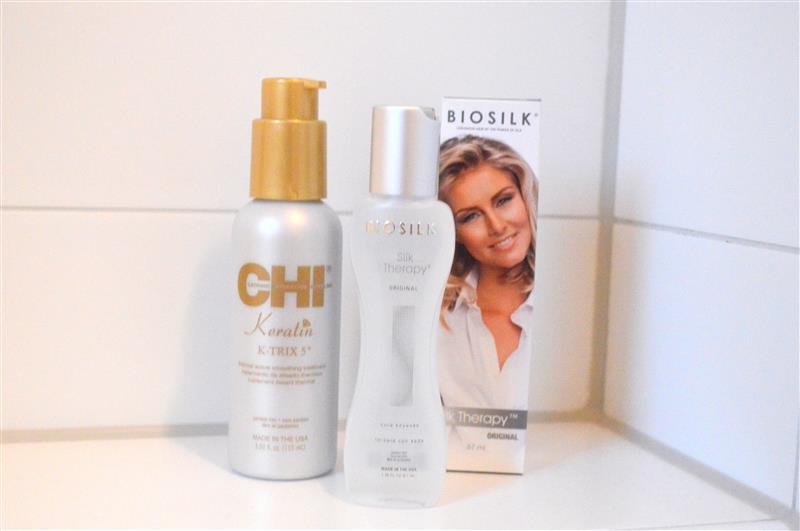 Mijn favoriete haarproducten: CHI Keratin & Biosilk Silk Therapy