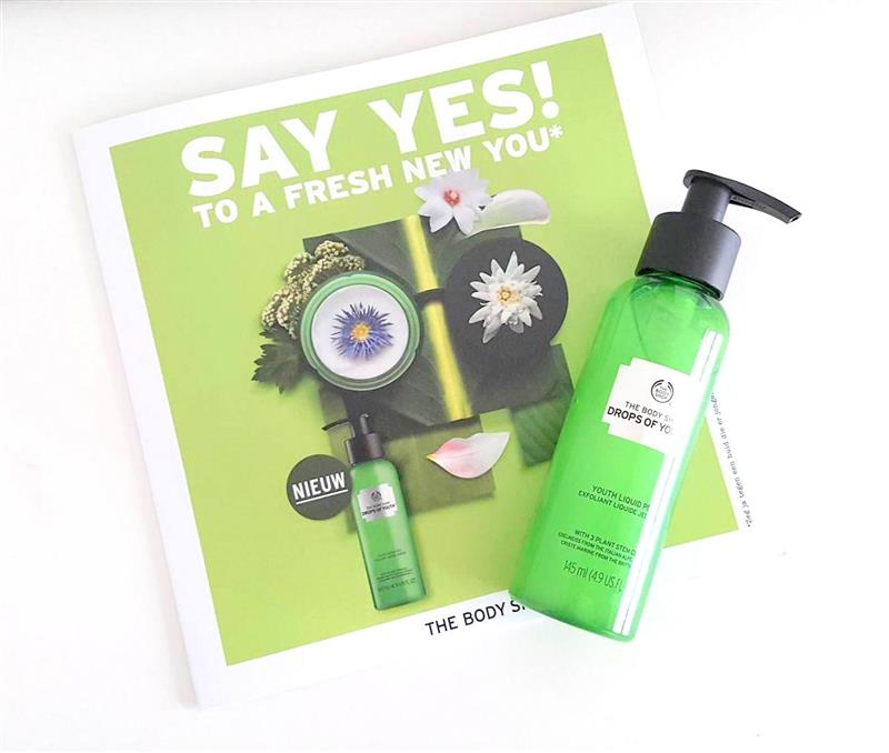 Review | Say yes to a fresh new you – The Body Shop Drops of youth liquid peel
