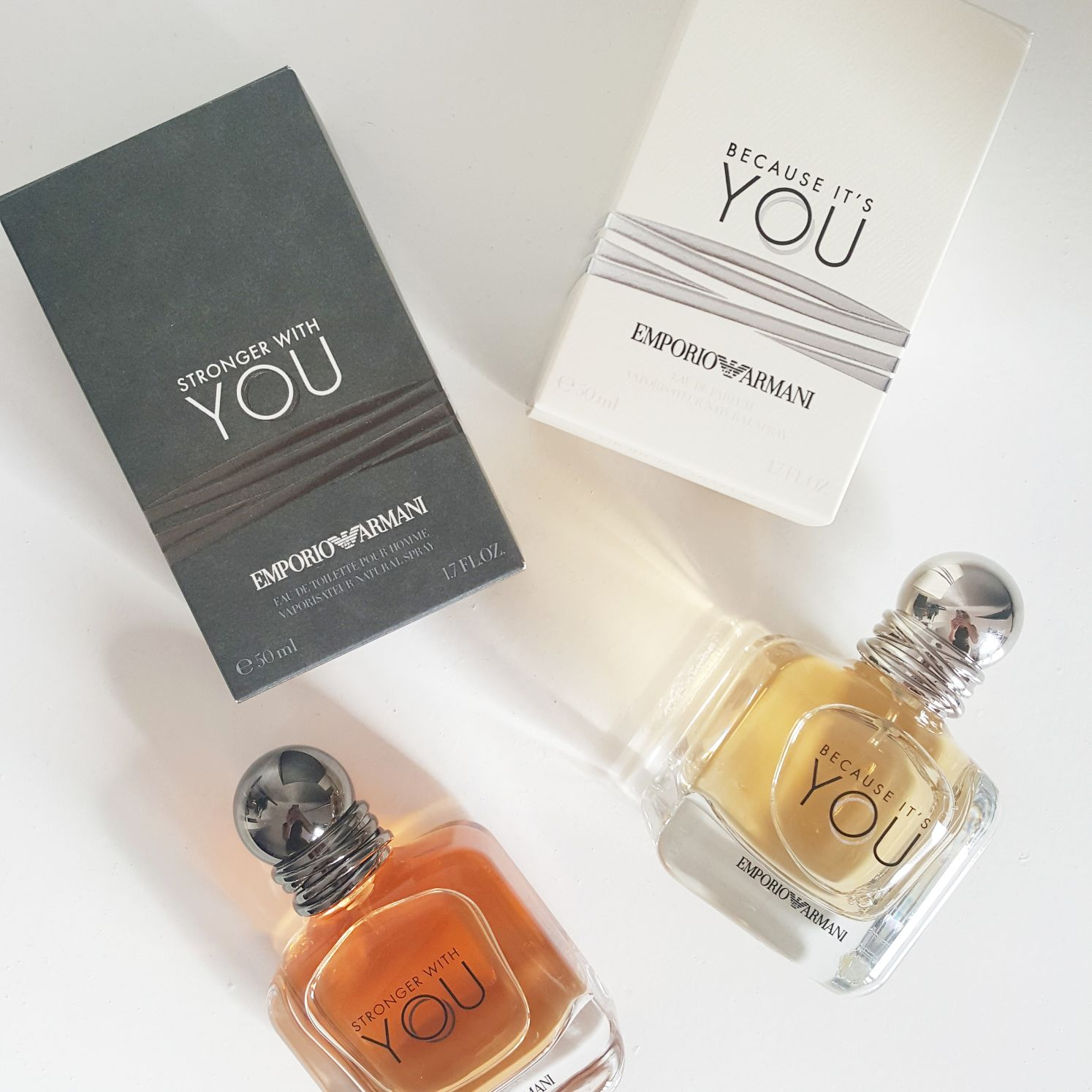 Original Kauf am billigsten Ausverkauf Review | Emporio Armani Because It's You & Stronger With You ...