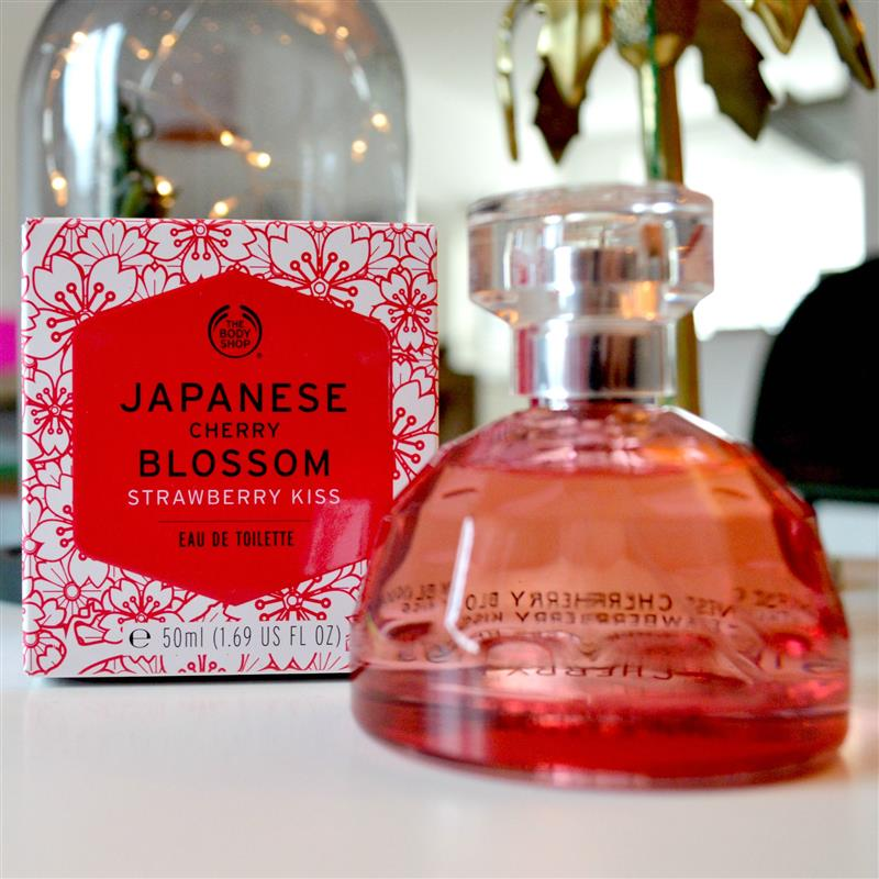 Review:  The Body Shop Japanese Cherry Blossom Strawberry Kiss Eau de Toilette