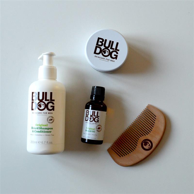 Bulldog: baardverzorging (speciaal voor mannen!)