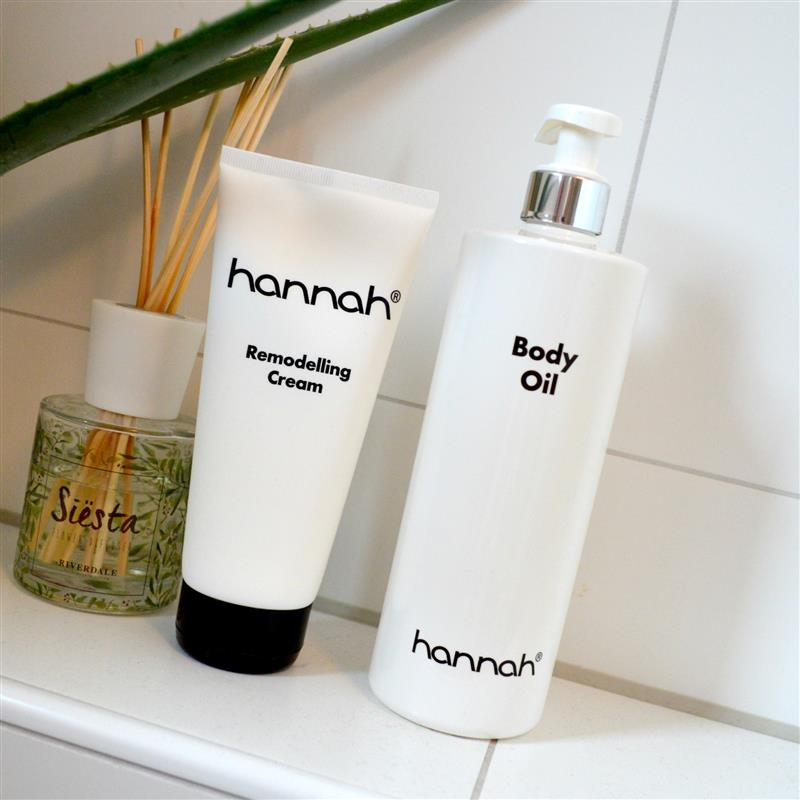Review: hannah Remodelling Cream & Body Oil (zonder striae je zwangerschap door!)