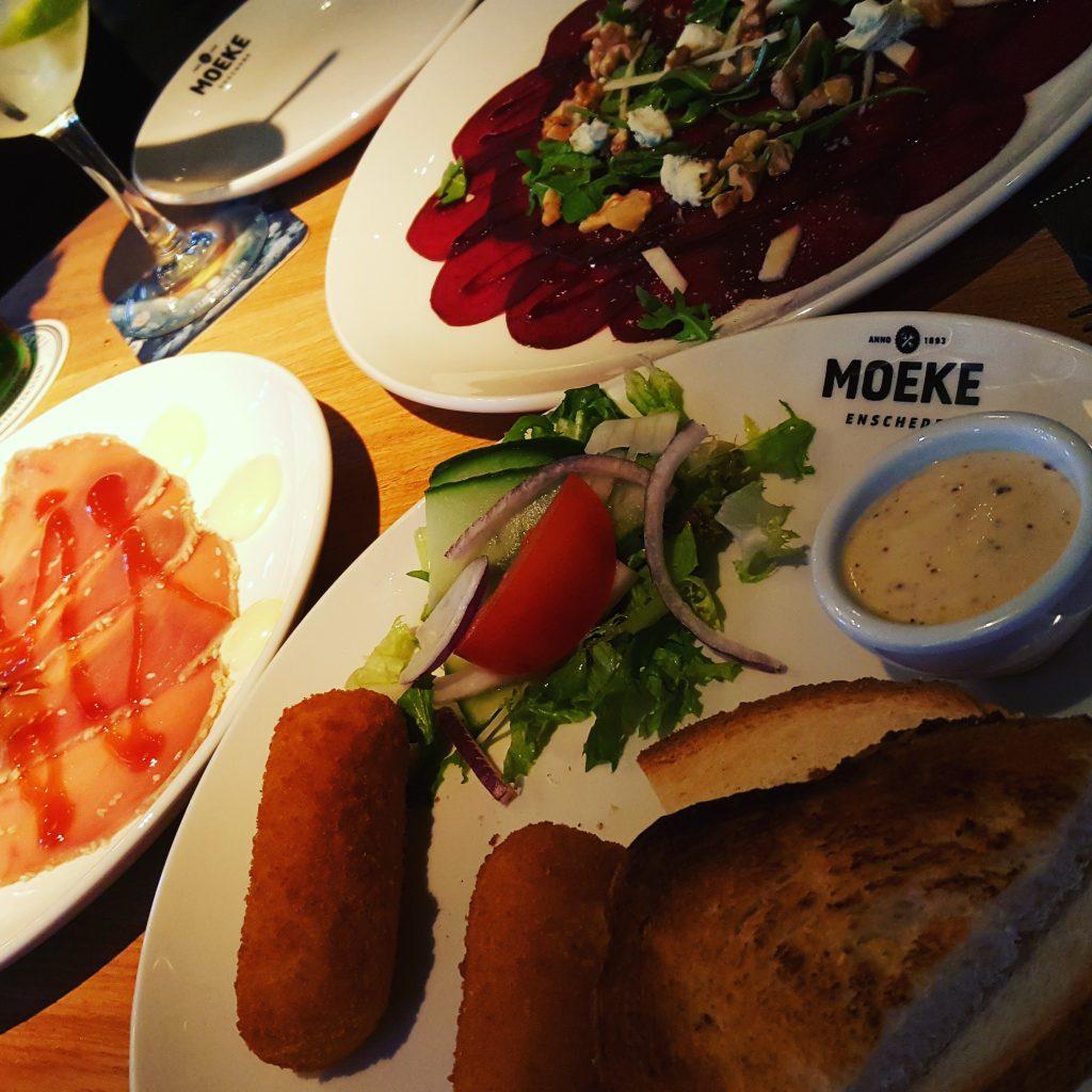 Eten bij Moeke in Enschede