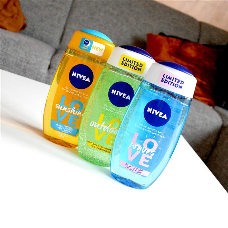 Nivea LOVE douchegels