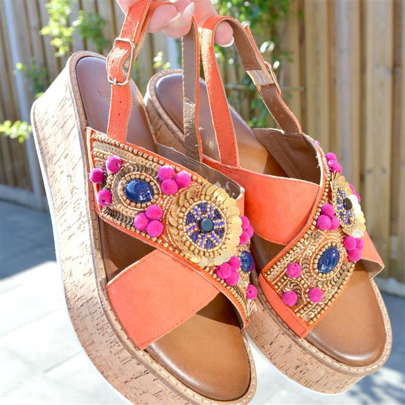 Mijn nieuwe zomerse sandalen van Manfield