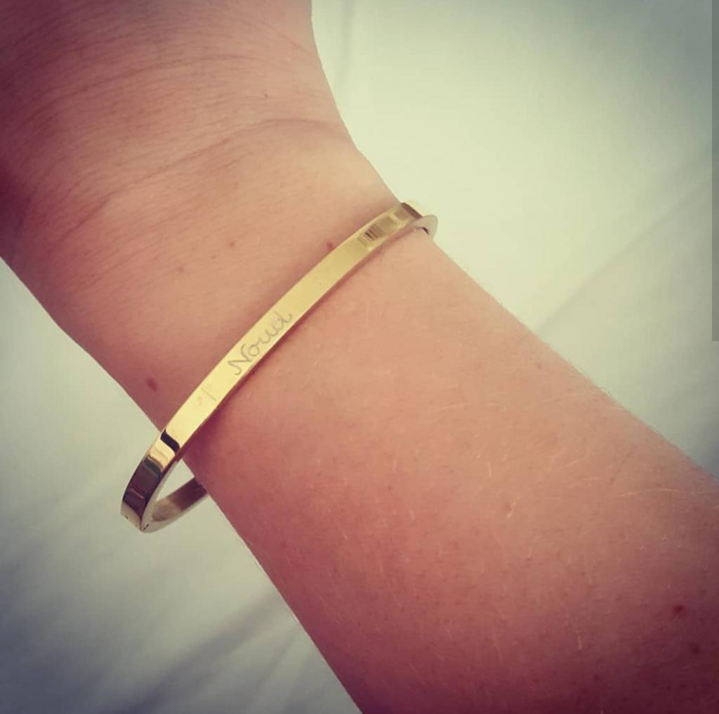 Mijn nieuwe armband van Kaya Sieraden!