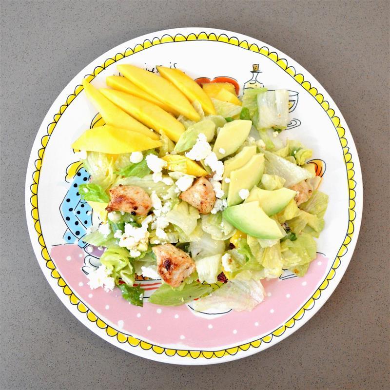 Recept: salade met feta en mango