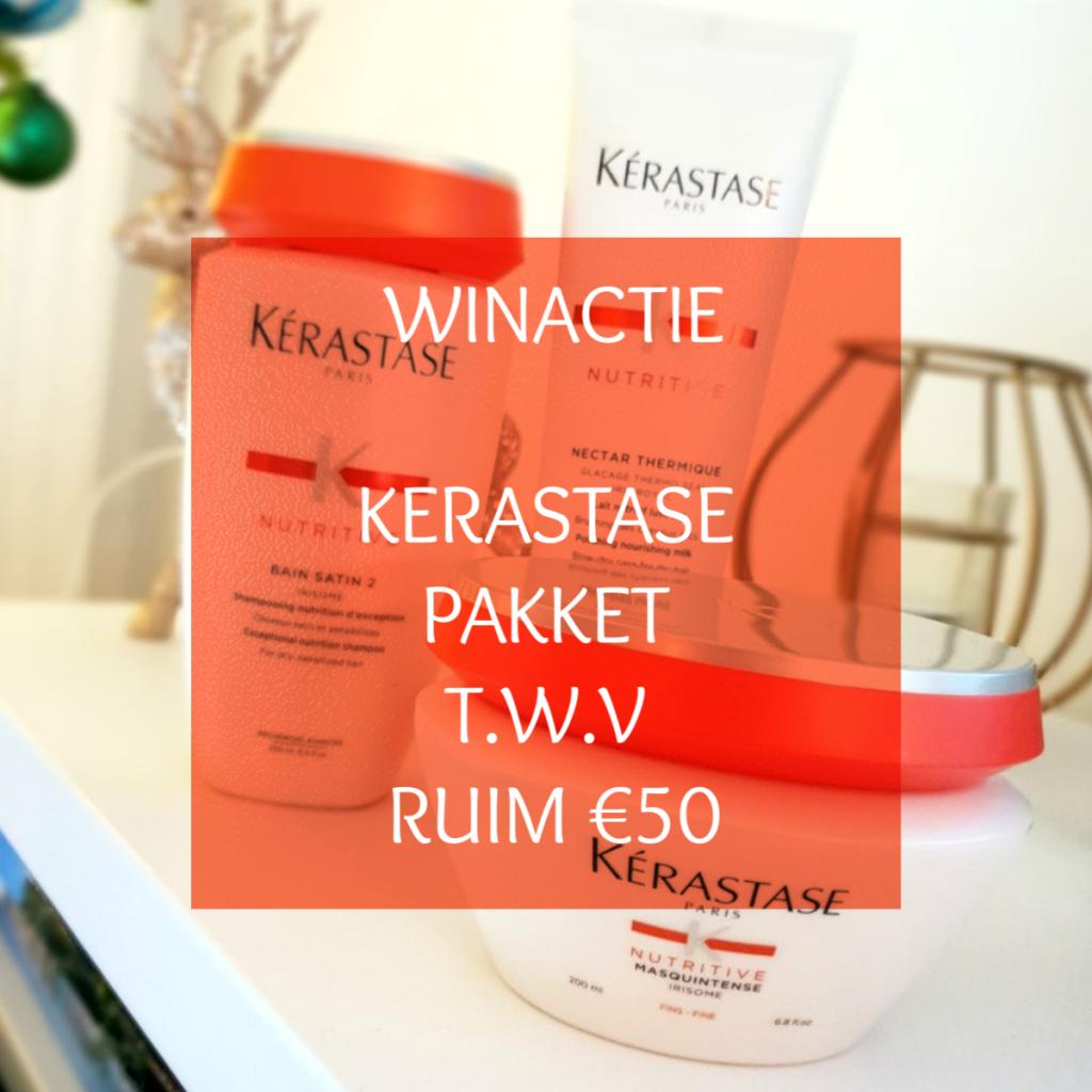 WINACTIE: Kérastase pakket t.w.v. ruim €50,-