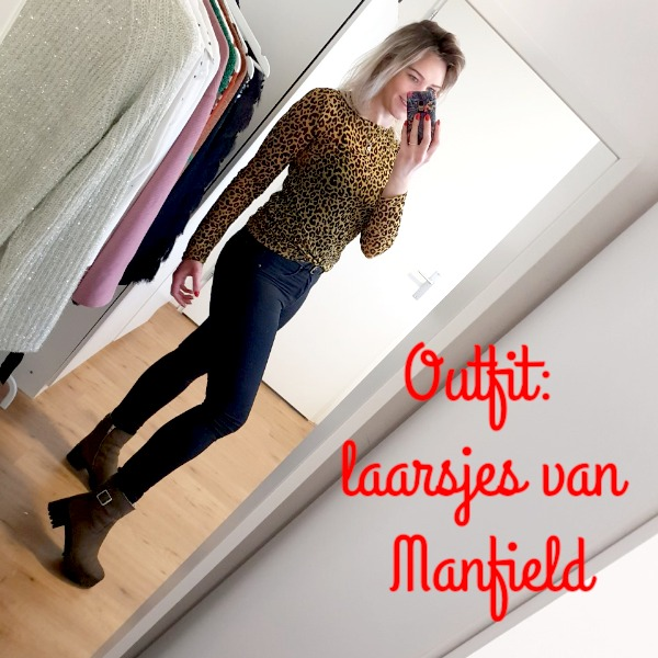 Outfit: groene boots van Manfield