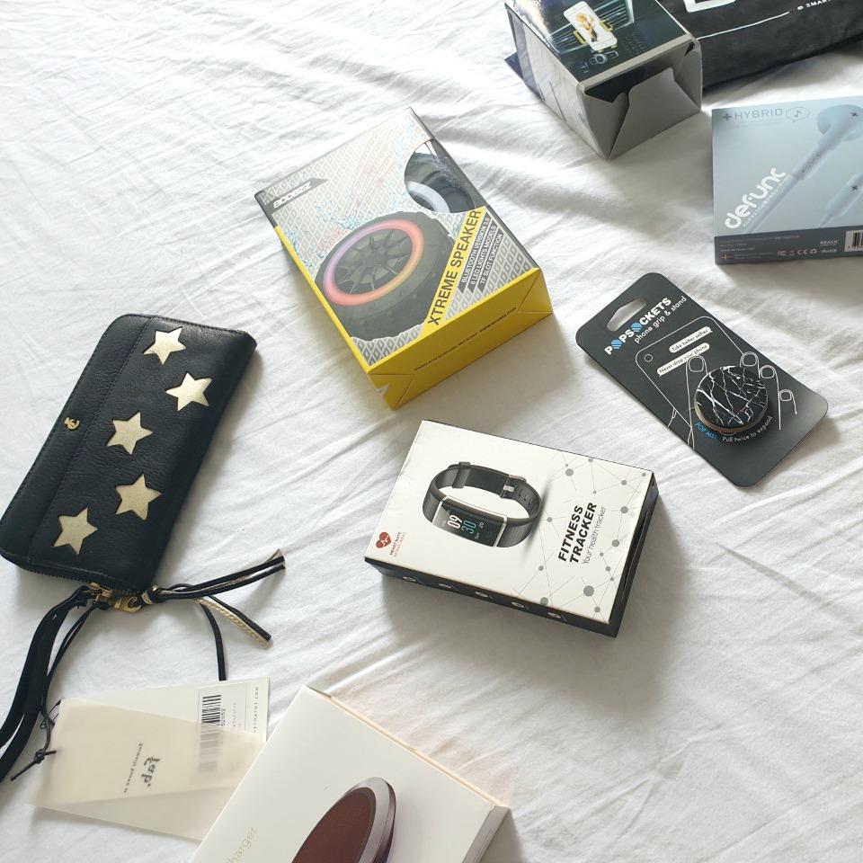 Bomvolle goodiebag van Smartphonehoesjes.nl #getitcovered