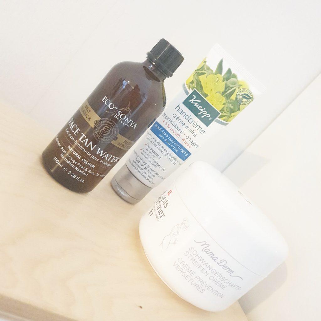 Onmisbare verzorgings/beauty producten tijdens mijn zwangerschap