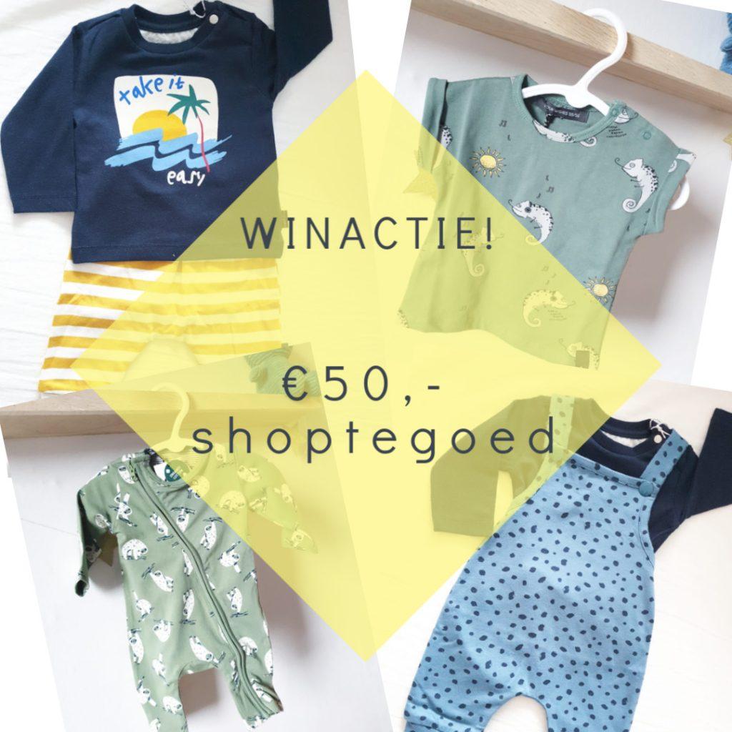 Nieuwe outfits voor de baby + win €50,- shoptegoed!
