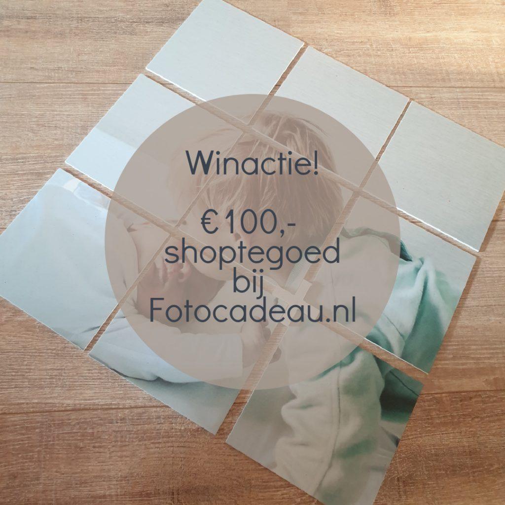 Win: €100 shoptegoed bij Fotocadeau.nl