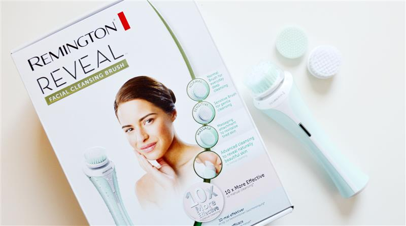 Review: Remington Reveal Facial Cleansing Brush