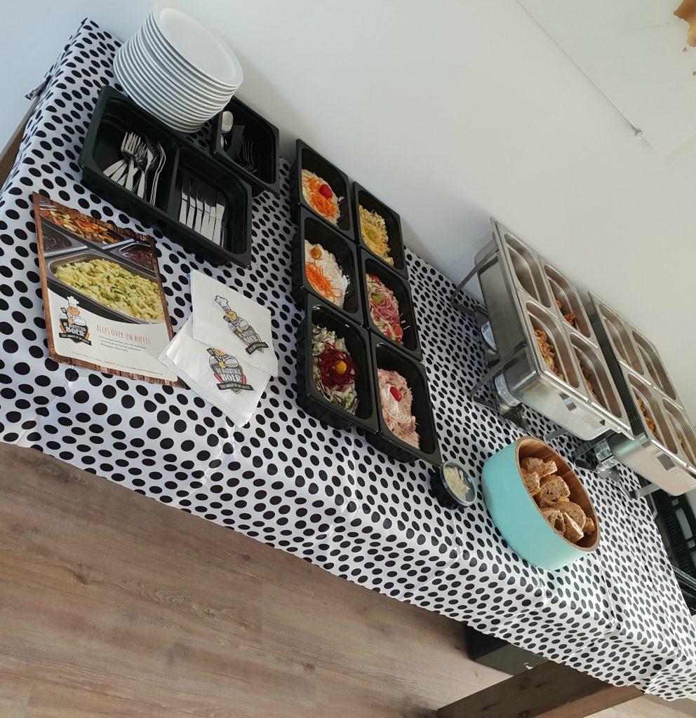 Uitgebreid dineren in je eigen huis